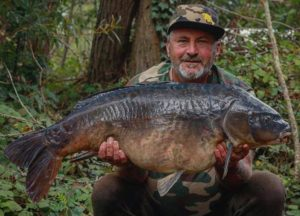 Jim Phelps lands the silver mirror just under 40lb width=