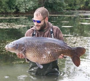Nina 46lb Carp Catch by Paul Sokell