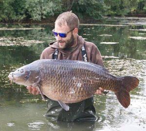 Nina 46lb Carp Catch by Paul Sokell